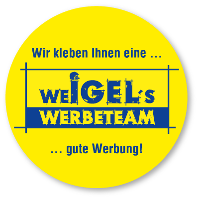 weIGEL´s werbeteam - Jens Weigel